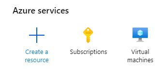 Azure subscriptions icon
