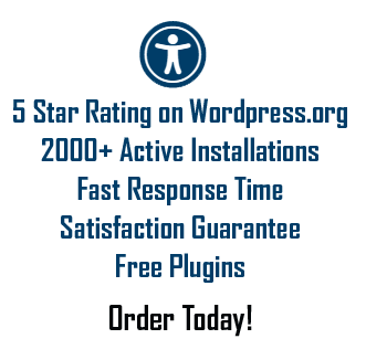 2000 active installs, 5 star rating, fast response, satisfaction guarantee, free bonus plugin